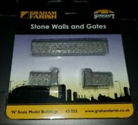 N Gauge Bachmann Graham Farish 42-555 Stone Walls and Gates Building model
