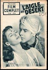 Film Complet #297 Feb 14th 1952 French Movie Magazine Yvonne De Carlo