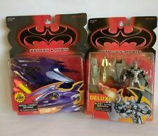 BATMAN & ROBIN Lot of 2 Aerial Combat Batman DlxBlast Wing Batman factory sealed