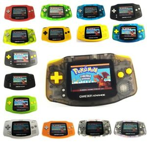 Game Boy Advance GBA Console w/ AGS 101 Backlit Screen Mod &Switch & DIY Button
