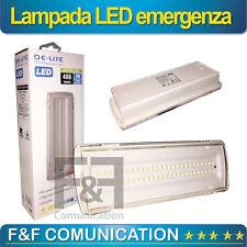 LAMPADE EMERGENZA LED SIMILE BEGHELLI 50 LED 4W INCASSO 3 ORE AUTONOMIA 406 LMN