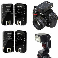 4Pcs YN622 N Flash Trigger Kit 1/8000s for Nikon D3100 D3200 D5100 D5200 D7100