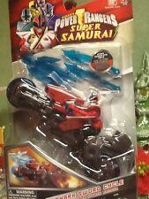 Power Rangers Samurai Shark Sword Cycle with Shark Attack Ranger Vehicle Action