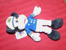 """Authentic Disney Parks Mickey Mouse Cruise Line 9"""" Plush - NEW"""