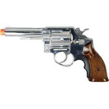 350 FPS HFC AIRSOFT 357 METAL REVOLVER GREEN GAS HAND GUN PISTOL w/ 6mm BBs BB