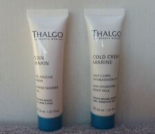 Thalgo Soin Marin Marine Shower Gel + Cold Cream 24H Hydrating Body Milk, 60ml