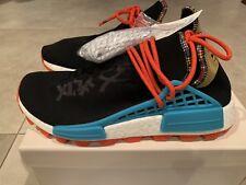 Adidas Pharrell Williams NMD HU Inspiration Pack Black EE7582 Size 9 w/ receipt