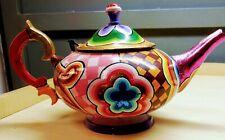 Decorative Hand Painted Teapot