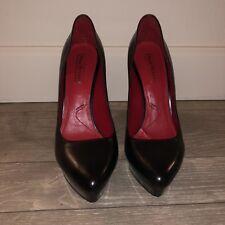 Cesare Paciotti Black Pumps Size 37 1/2 Or 7 Womens