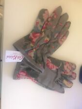 Bnwts Cath Kidston Ladies Gardening Gloves 100% Cotton