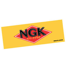 NGK SPARK PLUGS Car Sticker Decal Car Drift Low Vintage Vinyl #0476EN
