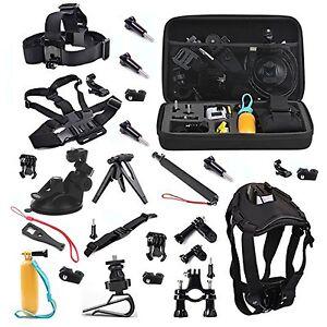 Travel Outdoor Sport Kits for Sony Action Camera HDR 200V Mini FDR X1000V Xiaomi