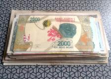 LOT 100 BILLETS DU MONDE / 100 WORLD BANKNOTES - EUROPE AFRIQUE ASIE AMERIQUE 6