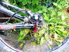 Componentes y piezas bicicletas híbridas negros de aleación para bicicletas