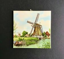 Windmill Art Tile from Holland