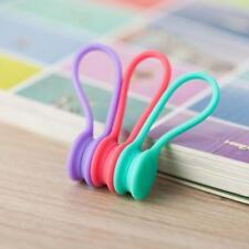 3x Magnetkopfhörer Kopfhörer Kabelaufwicklung Wrap Organizer Kabelbinder Halter#