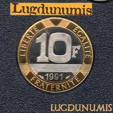 BE - 10 Francs Génie 1991 FDC 6 232 Exemplaires Provenant du Coffret BE