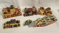 Vtg Micro Machines Military Battle Zones Lot Tanks, Jets, Helicopters, Playsets