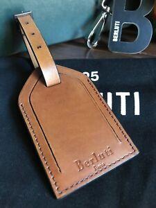 Berluti Leather Bag Tag