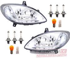 kompatibel zu Mercedes Vito Viano Scheinwerfer Set lin. & rec. mit Leuchtmitteln