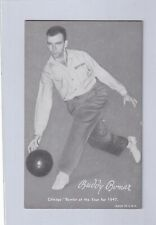 1948 - 49 Exhibit Sports Champions BUDDY BOMAR  Bowling Champion