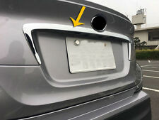 ABS Chrome Rear Trunk Lid Cover Trim For Toyota C-HR CHR 2017 2018