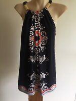 Jane Lamerton Brand Size 14 Classy Kaftan Colorful Top New