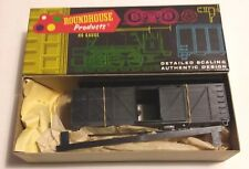 Vintage Roundhouse Truss Side 40' Box Car Kit Undecorated