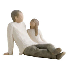 Willow Tree Father & Daughter Figurine 26031 in Branded Gift Box