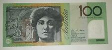 Australian $100 Dollar Polymer Bank Note Circulated Valid Currency