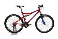 """Gary Fisher Sugar 3 26"""" FS Mountain Bike 2 x 9 Speed Shimano Deore 17.5 in / M"""