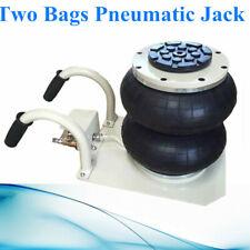 """Pneumatic Jack 2.5 Ton Double Bag Air Jack Lifting Height 11.8"""" 5500Lbs Capacity"""