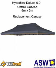 6m x 3m GREY Gazebo Replacement Canopy suits OZTRAIL DELUXE 6.0 Pavilion Frame