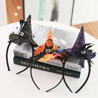 Halloween Headband Witch Hat Party Headband Decorative Lovely Hair Accessories