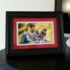 "HP 7"" LCD Digital Photo Frame - Black  - WITH WIRELESS REMOTE"