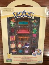 """Pokemon Petite Pals """"Good Times At The Coffee House"""" Play Set NEW"""