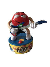 More details for m&m's rock band red guitar m&m in working condition