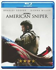 American Sniper - Bradley Cooper (Blu-ray + DVD) by Clint Eastwood BRAND NEW!