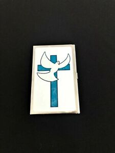 Personalized Expression Mini Business Cardholder Blue Cross