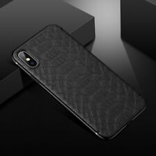 For iPhone X 8 7 6s Plus Luxury Slim Leather TPU Case Shockproof Magnetic Cover