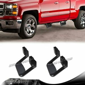 2 X Black Texture Coated DIE-CAST Aluminum SUV Truck Pickup Nerf Side Step Bar