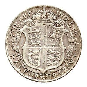 KM# 818.1 - Half Crown - 2 1/2 Shillings - George V - Great Britain 1919 (VF)