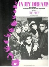 "THE PARTY ""IN MY DREAMS"" SHEET MUSIC-PIANO/VOCAL/GUITAR/CHORDS-RARE-NEW ON SALE!"