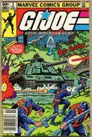 G.I. Joe A Real American Hero #5-1982 fn- 5.5 Marvel / 1st GI G I Newsstand