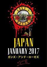 "Guns N Roses ""Not In This Lifetime"" Tokyo Japan Tour Poster 2017"
