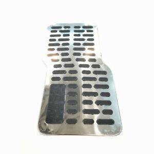 1Pc Auto  Carpet Floor Liner Foot Pedal Mat Metal Pads Car Non-slip Floor  Mats