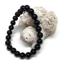 8mm Obsidian bracelet yoga Gemstone Stretchy Healing Spirituality Unisex Wrist