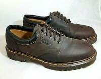 Dr. Martens Men's Shoe Size 9 Brown Leather 8053 5-Eye Casual Lace Up