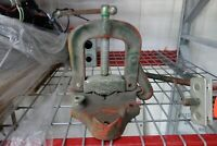 """Rigid #25 Bench Mounted Pipe Vise, For 1/8"""" to 4"""" Pipes, Made in USA"""