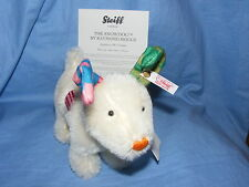 Steiff Snowdog By Raymond Briggs From The Snowman Films Limited Edition 664083